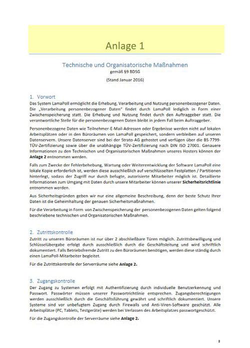ADV-Vertrag: Mehr Sicherheit für Ihre Online-Befragungen - Blog-LamaPoll
